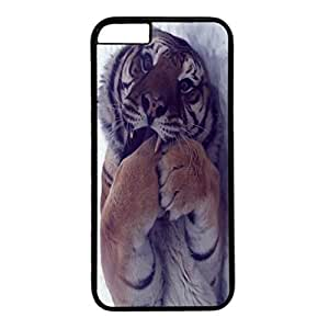 Black PC Back Protection Case Cover For iphone 4 4s With Baby Tiger Xiang's Case