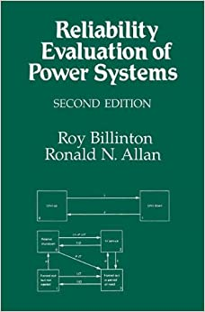 Book Reliability Evaluation of Power Systems