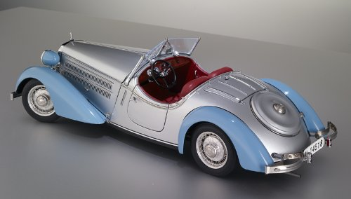 CMC Audi 225 Front Roadster (Blue/Silver) Limited Edition 1:18 Scale