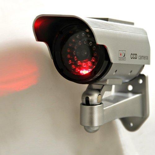 Value-5-Star - COTS-4 X CCTV TELECAMERA FINTA DUMMY OUTDOOR DA SORVEGLIANZA PROFESSIONALE VIDEO CAMERA WIRELESS,LED NEGOZIO OUTDOOR/INDOOR by Value-5-Star (Image #2)
