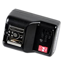 Cowboystudio NPT-04 4 Channel Wireless Hot Shoe Flash Receiver for Canon EOS, Nikon, Olympus & Pentax Flashes Other products