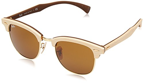 Ray-Ban CLUBMASTER (M) - MAPLE RUBBER BROWN Frame BROWN Lenses 51mm - Ray Clubmaster Frame Ban