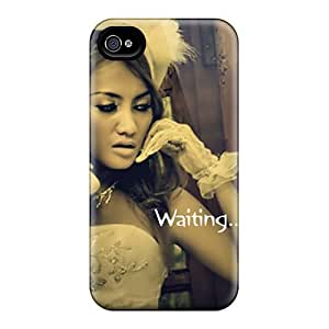 Ideal ConnieJCole Case Cover For Iphone 4/4s(waiting), Protective Stylish Case