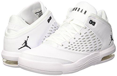 100 Basket whiteblack Uomo 4 Jordan Nike Da Scarpe Bianco Flight Origin qvqwzYZ