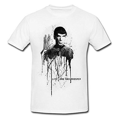 Spock T-Shirt Herren, Men mit stylischen Motiv von Paul Sinus