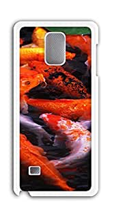 TUTU158600 Custom made Case/Cover/ case for samsung galaxy note4 - A group of red koi