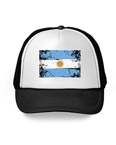 Soccer Trucker Hat - Awkward Styles Argentina Hat Argentina Trucker Hat Soccer Argentina Flag Gifts Black One Size