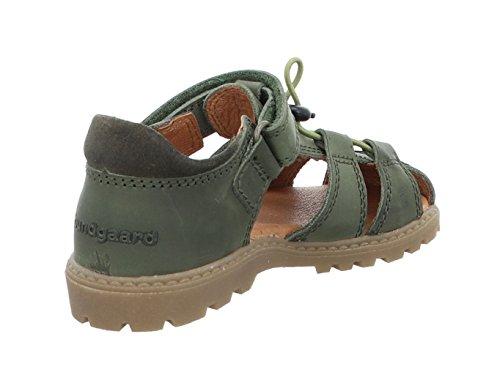 Bundgaard Traj BG202022C Army Kinder Sandale in Weit Army ON