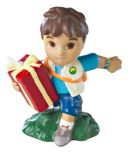 Wilton Go Diego Go Candle- Discontinued By Manufacturer - Go Diego Go Birthday Party
