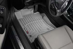 WeatherTech - 460601 - 2003 - 2007 Honda Accord Grey 1st Row FloorLiner