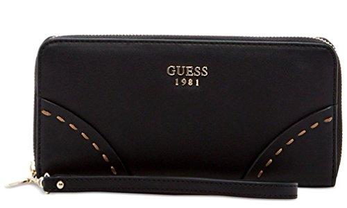 (GUESS Women's Julana Large Zip Around Clutch Wallet Bag)