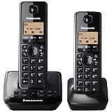 Panasonic KX-TG2722EB Twin Téléphone sans fil DECT avec répons'en Machine
