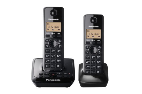 Panasonic KX-TG2722EB Twin DECT Cordless Telephone Set with Answer Machine