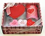 Candles4Less - Valentine Candle Gift Set