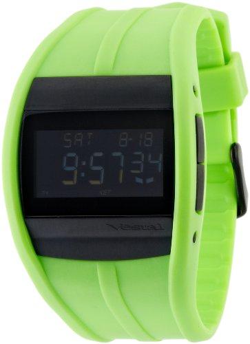 Vestal Unisex CRU008 Crusader Digital Neon Green Surf Watch