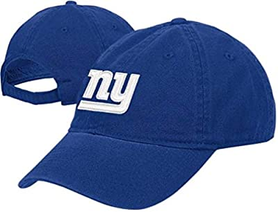 New York Giants Youth Team Color Basic Logo Adjustable Slouch Hat