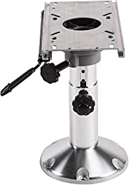 The Wise Company 8WP21-374 Adjustable Pedestal with Slide, Silver