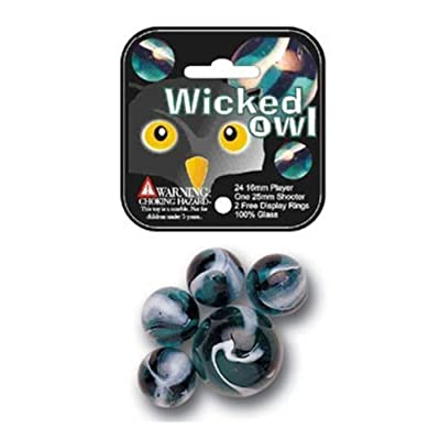 Marbles: Owl Set: Toys & Games