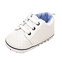 Baby Boys Girls Breathable Soft Sole Infant Prewalker Toddler Sneaker Shoes