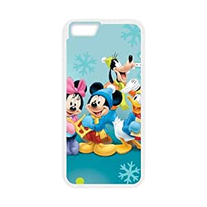 Mickey's Twice Upon a Christmas iPhone 6 4.7 Inch Cell Phone Case White JU0007229