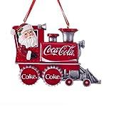Kurt Adler Coca-Cola Santa Train Ornament