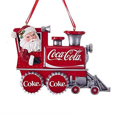 Kurt Adler Coca-Cola - Figura Decorativa de Papá Noel