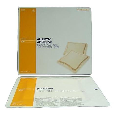 Allevyn Adhesivo Vestir 10 Pack (Tamaño: 22,5 x 22,5 cm ...