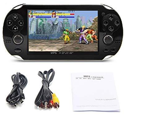 Amazon com: 4 3 Inch 8GB Handheld Game Console 32Bit Video