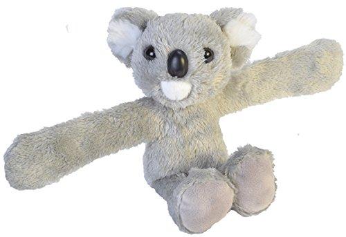 Wild Republic Huggers, Koala Plush Toy, Slap Bracelet, Stuffed Animal, Kids Toys, 8