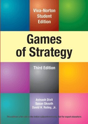 Games of Strategy by Morris Wood (2012-08-02): Amazon.es: Morris Wood;Avinash K. Dixit: Libros