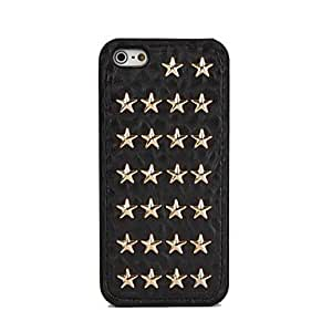 HP DF Stars Pattern PU Soft Cases for iPhone 5/5S