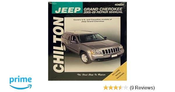 Chilton CHI40604 Jeep Grand Cherokee 05-14