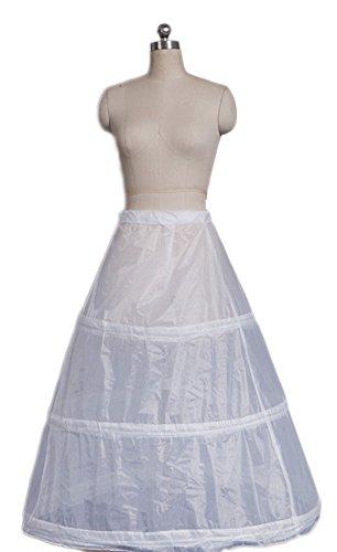 Zukzi Women's Gothic Victorian Lolita Masquerade Dresses Ball Gowns, Accessory Petticoat (Colonial Gown Costume)