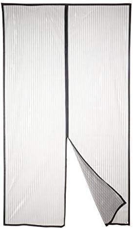 F/ácil de ensamblar 80x200 Negro Tejido S/úper Fino Para Dejar Pasar El Aire.Cierre Magn/ético Autom/ático Que Evita el Paso de Insectos APALUS Cortina Mosquitera Para Puertas