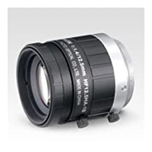 """Fujinon HF12.5HA-1B 12.5mm F/1.4 Fixed Focal Lens for 2/3"""" CCD, C-Mount, Locking Iris/Focus, Industrial and Machine Vision"""