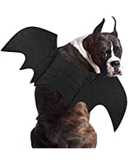 RYPET Dog Bat Costume - Halloween Pet Costume Bat Wings Cosplay Dog Costume Cat Costume for Party XL