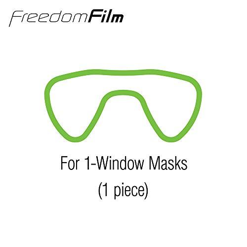 USA Anti-Fog Freedom Film for all Single-Window Scuba/Snorkeling (Best Film For Windows)