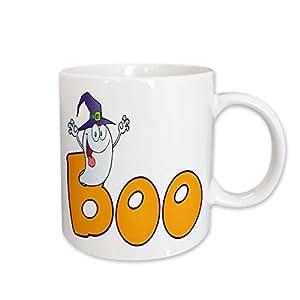 Blonde Designs Happy and Haunted Halloween - Halloween Boo Ghost - 15oz Mug (mug_131035_2)