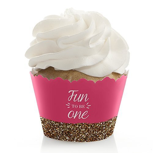 Fun One Birthday Cupcake Wrappers