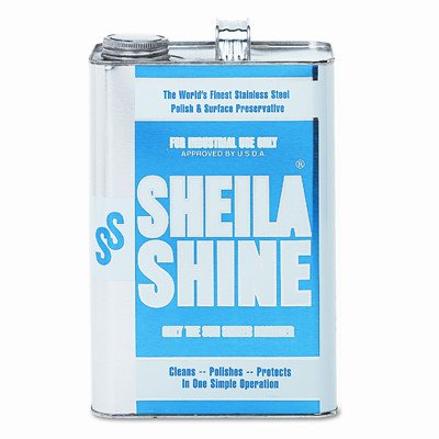 Stainless Steel Cleaner And Polish, 1 gal. (Sheila Shine Liquid)