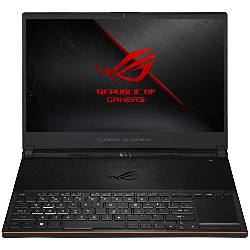 "2019 New ASUS ROG Zephyrus S Ultra Slim Gaming Laptop, 15.6"" 144Hz IPS FHD Display, Intel Hexa-Core i7-8750H Processor up to 3.90GHz, 8GB GeForce GTX 1070 Max-Q, 16GB DDR4 RAM, 512GB PCIe SSD, Win 10"