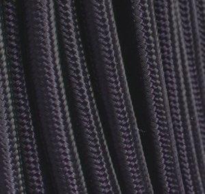 Fil /électrique tissu noir