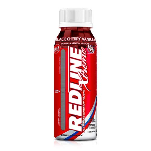 VPX Redline Xtreme RTD Black Cherry Vanilla 24 Packs of 8 oz Bottles
