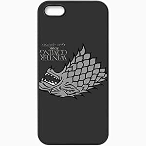 Personalized iPhone 5 5S Cell phone Case/Cover Skin Game Of Thrones 4 Movies Tv Black