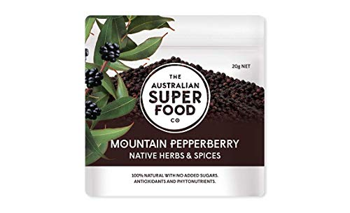 (Whole mountain Pepperberry 20g The Australian Superfood Co )