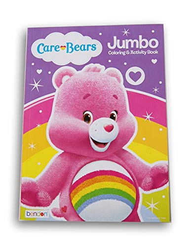 Lazy Days Care Bears Cheer Bear Coloring and Activity Book - 96 Pages