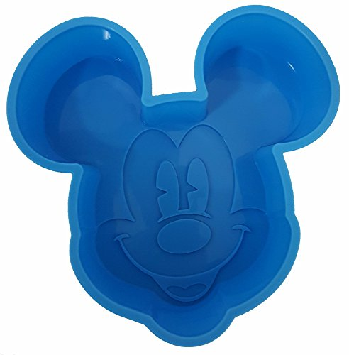 Disney Mickey Mouse Cake Pan Non-Stick Silicone Small