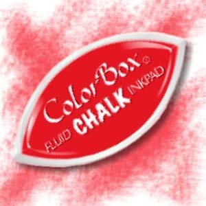 (CLEARSNAP 714-37 ColorBox Fluid Chalk Cat's Eye Inkpad, Lipstick Red)