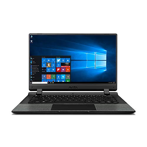 AVITA Essential NE14A2INC433-MB 14-inch Laptop (Celeron N4000/4GB/128GB SSD/Window 10 Home in S Mode/Integrated Graphics), Matt Black