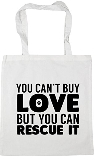 42cm can't litres Shopping it buy x38cm love rescue You Gym Bag Beach can but you White HippoWarehouse Tote 10 C85vqgwc6W